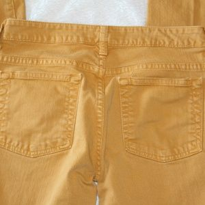 Garnet Hill Mustard Jean Size 2